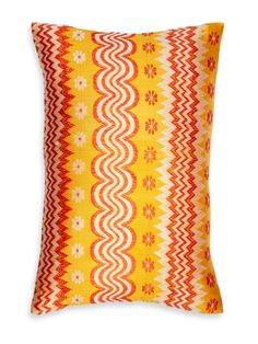 John Robshaw Burmese silk pillow