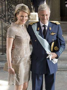King and Queen of Belgium