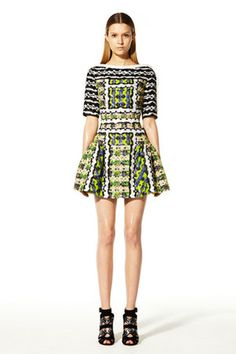 Peter Pilotto Resort 2013 Patterned Dress