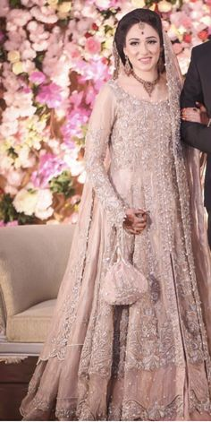 Asian Wedding Dress, Pakistani Wedding Outfits, Pakistani Wedding Dresses, Bridal Outfits, Shadi Dresses, Indian Gowns Dresses, Pakistani Bridal Makeup, Indian Bridal Wear, Bride Dress Up