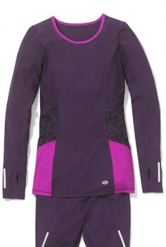 Long Sleeve Panelled Technical Top
