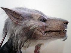 William's head from the movie Underworld: Evolution