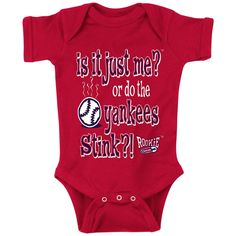 Boston Red Sox Fans. Is It Just Me?! Onesie (NB-18M)