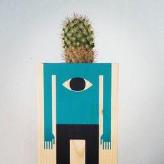 Enchantée Cactus ! #çapique #plantesgrasses #droledetete #aiemesfesses - Cactus Man