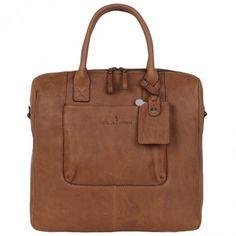 Castelijn & Beerens laptoptas 13.3 inch Carisma cognac