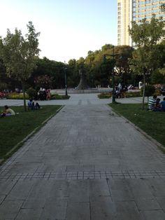 Taksim Gezi Parkı.