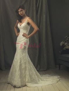 Bridal Shop Cairns | Trumpet V-Neck Court Train Satin and Organza Wedding Dress Cairns,Australia - $269.63 : Bridal Shop Cairns | Cheap Wedding Dresses, Buy Cheap Wedding Dresses Cairns and 2016 Prom Dresses Cairns | Wedding Shop Cairns Australia, Cheap Wedding Dresses and Shop Prom Dresses Cairns | Bridal Shop Cairns