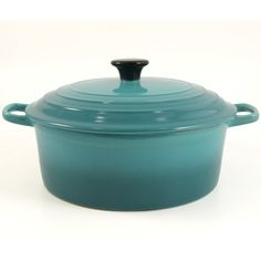 Serving Round Soup Pot with Lid Caribbean Blue 10 -- Be sure to check out this awesome product.