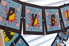 Vintage Batman Super Hero Party  PRINTABLE Happy by CutiePutti, $7.50