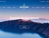#Santorini #Resort - #Hotel #theme by CSSIgniter