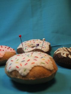 Donut Pin Cushion