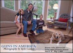 Armed America: Portraits of Gun Owners in TheirHomes a book by Kyle Cassidy