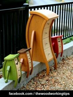 unique furniture Straight Line Designs - furniture Funky Furniture, Unique Furniture, Painted Furniture, Furniture Design, Office Furniture, Dream Furniture, Plywood Furniture, Garage Furniture, Painted Dressers