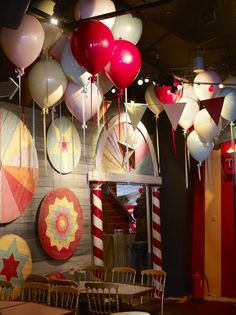 Love the wall art Vintage Circus Party, Circus Carnival Party, Circus Theme Party, Circus Wedding, Carnival Birthday Parties, Carnival Themes, Circus Birthday, Vintage Carnival, Party Themes
