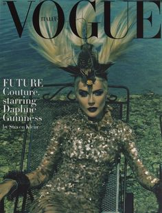 WE ARE ALL PROSTITUTES AND JUNKIES (daphne guinness steven klein vogue italia)