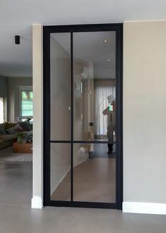 Sliding Glass Door, Glass Doors, Door Design, House Design, Room Doors, Steel Doors, Lighting Design, Interior Inspiration, Loft