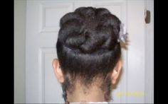 Quick & Easy Styles for Short Natural Hair: The Bunned Updo | Black Girl with Long Hair