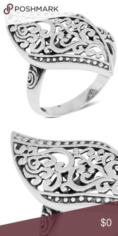🆕 Antique Sterling Silver Filigree Ring Size 6 Yielding the beautiful filigree, this ring from a great Collection is a must-have. Framed in sterling silver, this beauty illustrates breathtaking design. Additional information about the ring is 🤗 Product Weight (grams) 4.020 Metal Purity 925S Metal 925 Sterling Silver                         Size 6  Southwest Western Wear Fashion Boho Gypsy Indigo Hippie Work Night Out Date Night Daily Wear! 1201007 Will be in a 🎁 with a small cleaning…