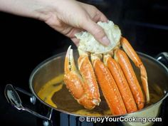 Boiled Snow Crab Legs with Old Bay Seasoning Recipe: Step 4
