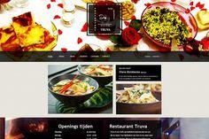 Website voor Turks restaurant Truva
