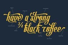 Allema Script Font by aktab studio typeface on @creativemarket