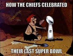 How Chiefs celebrated last Super Bowl haha