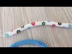 Çiçek desenli hapishane işi bileklik modeli yapılışı - YouTube