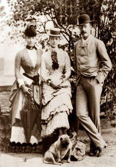 Maria Feodorovna , Queen Alexandra and Prince Valdemar of Denmark
