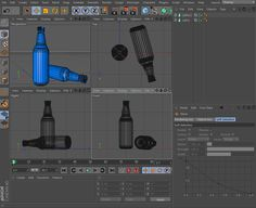 Cinema 4D Online Tutorials | Creating Glass Bottle Tutorial In Cinema 4D – Part One – Modeling - Page Eight