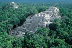 Aztec ruins of Mexico