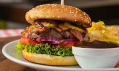 There's no better way to keep a beef burger juicy than sweet and tangy barbecue…