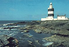Hook Head Lighthouse (Wexford, Ireland).  This site was originally tended by monks and is one of the oldest in Europe, established circa 1172.  The present lantern was built in 1864 and converted to electricity in 1972.