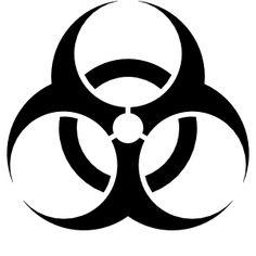 Biohazard Sign clip art