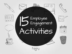 Whether you're simply browsing for some ideas that might boost up morale or if you're putting down the final details for your HR strategy, here are 15 employee engagement activities that you should try! Fun Office Activities, Team Building Activities, Employee Rewards, Employee Morale, Work Motivational Quotes, Work Quotes, How To Motivate Employees, Employee Engagement, Engagement Strategy