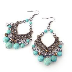 $9.63 bohemian earrings - http://zzkko.com/book/shopping?note=19005