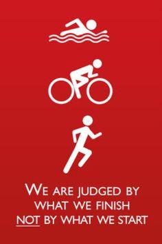 Somos juzgados por donde terminamos, no por donde empezamos.