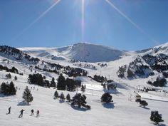 station de #ski à #Andorre