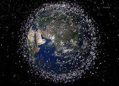 Europa vai acabar com o lixo espacial que destrói satélites
