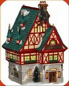 Christmas House Alpine Village