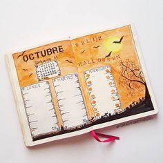 Bullet journal - с чего начать? Bullet Journal Aesthetic, Bullet Journal Inspo, Journal Diary, Bullet Journal Ideas Pages, Journal Pages, Journals, Bujo, Bullet Journal Halloween, Journal Covers