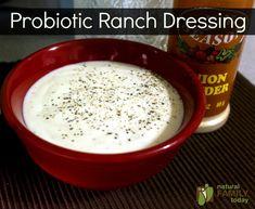 probiotic ranch dressing.