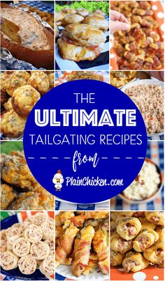 The ULTIMATE Tailgating Recipes - 25 of the best tailgating recipes on the internet. Something for everyone. These are tried and true recipes that will make your tailgate a touchdown!!