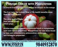 Health Benefits of Mangosteen!