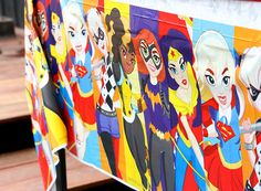 Emma's 'DC Super Hero Girls' Party – Fun Party Food, Decorating & Activity Ideas