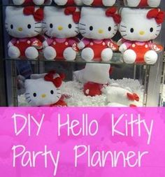Tweet Planning a Hello Kitty party on a budget doesn't have to be complicated! Check out these links below and you're on your way to an amazing party, fit for a Hello Kitty fan of any age! Decorations and Games …