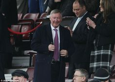 Sir Alex Ferguson  |  Slightly more respectable: at Old Trafford as Moyes' side went down yet again - Liverpool won 3-0!    Read more: http://www.dailymail.co.uk/sport/football/article-2582206/Diego-Maradona-watches-Liverpool-beat-Man-United-wearing-dangling-EARRINGS.html#ixzz2wDFSasy9  Follow us: @MailOnline on Twitter | DailyMail on Facebook