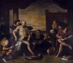 La muerte de Séneca, por Luca Giordano