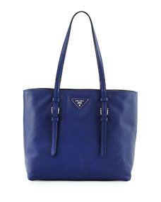 1f57e63074ce Prada Saffiano Soft Tote Bag