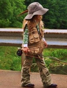 small fishing fan!)))