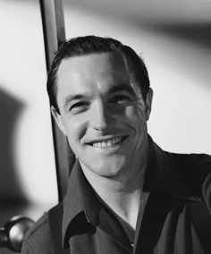 Gene Kelly (Singing in the Rain.   He was  a wonderful dancer and actor.